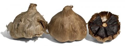 Black Garlic cut open