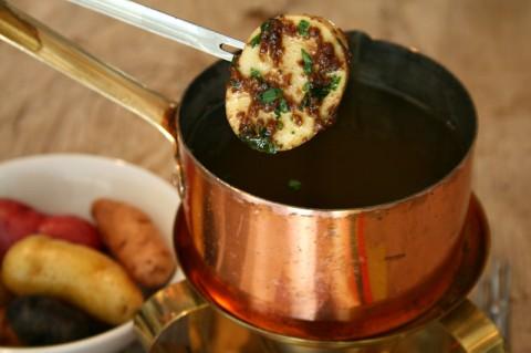 Bagna Cauda and Potatoes on ShockinglyDelicious.com
