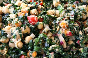 Kale-a-palooza Salad on Shockingly Delicious. Recipe: http://www.shockinglydelicious.com/?p=11325