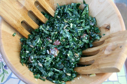 The Misfit Kale Salad from The Unprocess