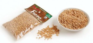 Organic Farro 6-ounce package from Melissa's