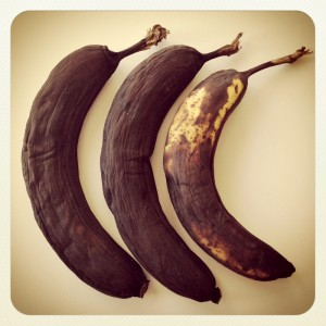 Black Bananas on Shockingly Delicious