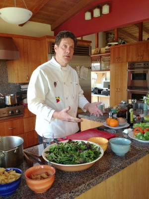 Chef Johnny Prep on Shockingly Delicious