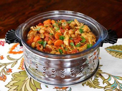 Chicken Chickpea Stew by The Shiksa in the Kitchen