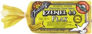 Ezekiel Flax Sprouted Whole Grain Bread