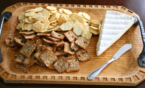 Brie and Crackers from Shockingly Delicious
