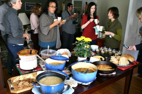 Food Bloggers Los Angeles mix and mingle over soups and stews