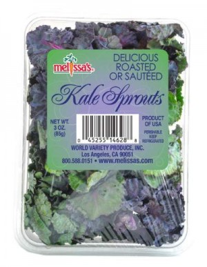 Kale Sprouts 3 oz from Melissa's Produce on Shockingly Delicious