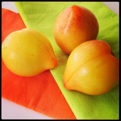 Lemon Plums from Frieda's Produce on Shockingly Delicious
