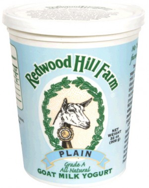 Redwood Hill Farm Plain Goat Milk Yogurt