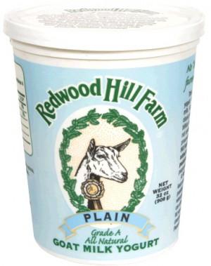 Redwood Hill Farm Plain Goat Milk Yogurt