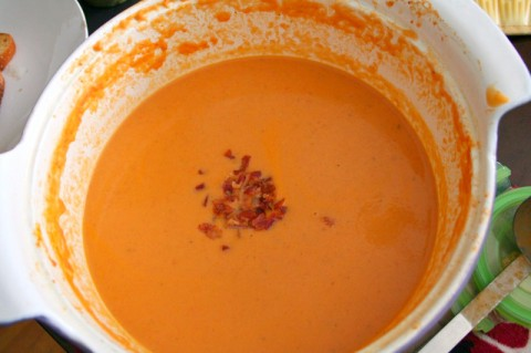 Tomato Bisque from Latino Foodie
