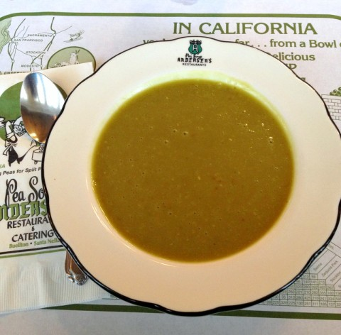 Andersen's Pea Soup on Shockingly Delicious. Recipe here: https://www.shockinglydelicious.com/?p=11662