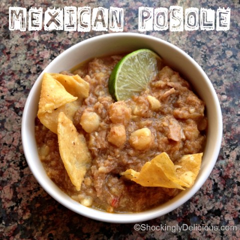 Mexican Posole on Shockingly Delicious