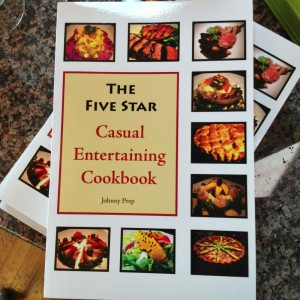 The Five Star Casual Entertaining Cookbook on Shockingly Delicious