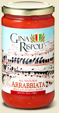 Gina Rispoli Arrabbiata 25oz on Shockingly Delicious