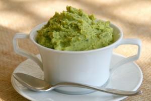 Green Mashed Potatoes on Shockingly Delicious