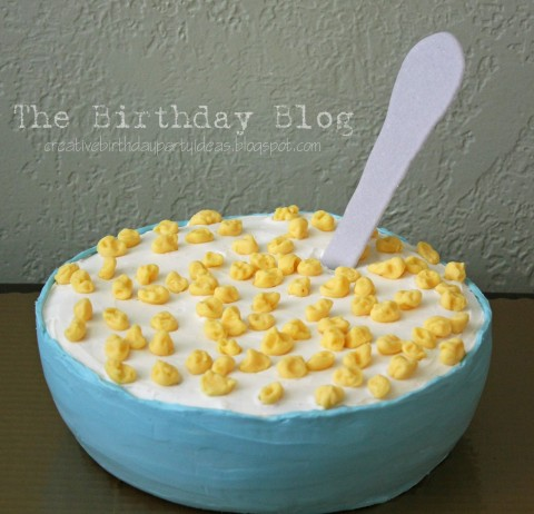 Cereal Cake from Not Just a Housewife