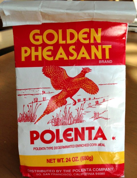 Golden Pheasant Polenta on Shockingly Delicious