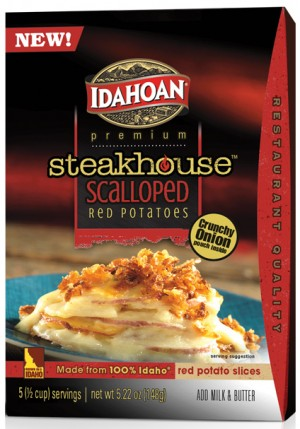 Idahoan Steakhouse Scalloped Red Potatoes on Shockingly Delicious