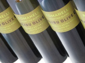 Malibu Olive Company organic Romanelli extra virgin olive oil