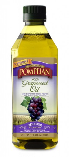 Pompeian Grapeseed Oil on Shockingly Delicious