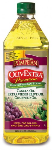 Pompeian OlivExtra Mediterranean Blend on Shockingly Delicious