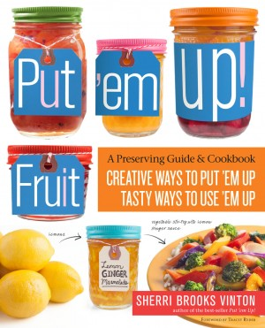 PutEmUpFruit book cover on Shockingly Delicious