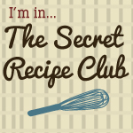 Secret Recipe Club button on Shockingly Delicious