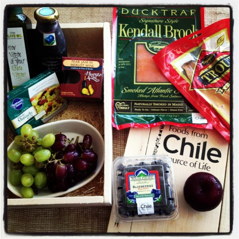 Foods from Chile mystery box on Shockingly Delicious