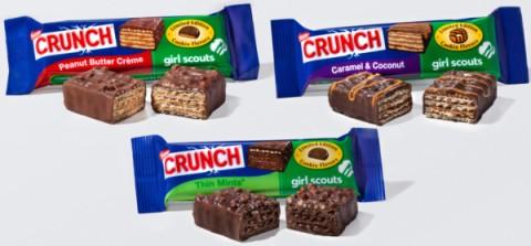 Nestle Crunch Girl Scout Bars