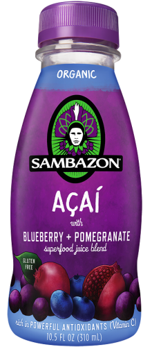 Sambazon Acai with Blueberry + Pomegranate Juice