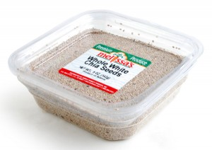 White Chia Seeds from Melissa's Produce on Shockingly Delicious