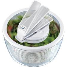 Zyliss Smart Touch Salad Spinner on Shockingly Delicious