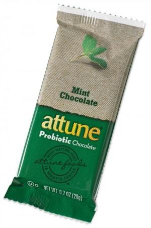 Attune Probiotic Chocolate Bar Mint