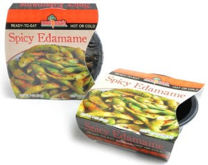 Spicy Edamame Bowl from Melissa's Produce