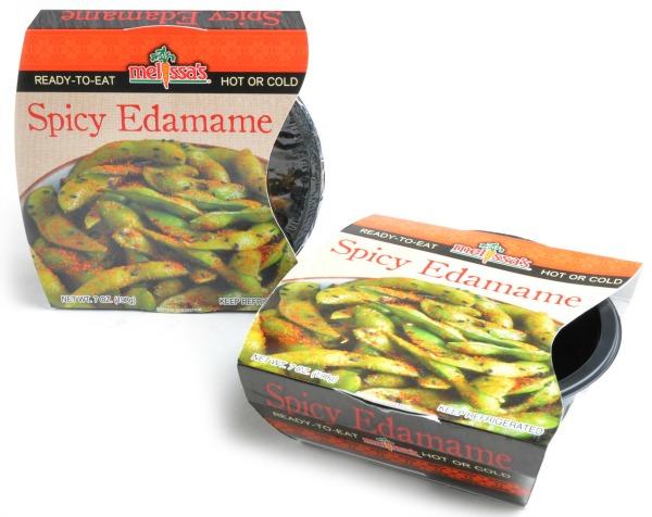 Ready to eat edamame