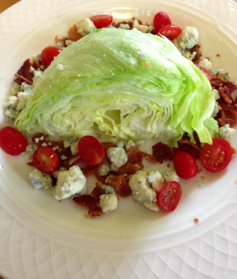 Wedge Salad on Shockingly Delicious