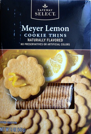 Meyer Lemon Cookie Thins on Shockingly Delicious