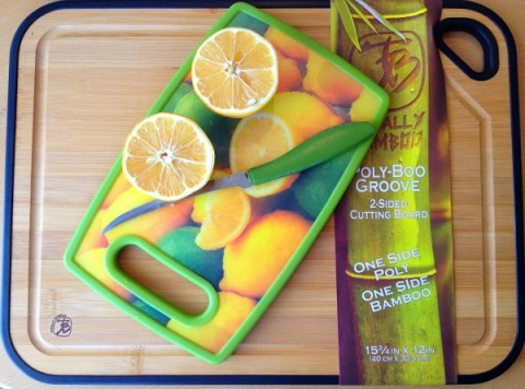 Poly-Boo Cutting Board on Shockingly Delicious