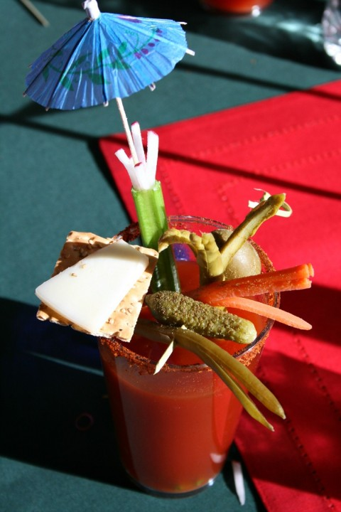 Beach Bloody Mary by Barbara Cooks on Shockingly Delicious