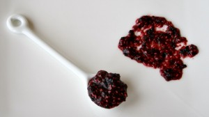 Raw Blueberry-Blackberry Chia Jam on Shockingly Delicious