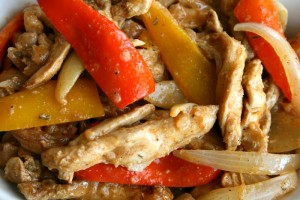 Slow Cooker Mexican Chicken Fajitas on ShockinglyDelicious