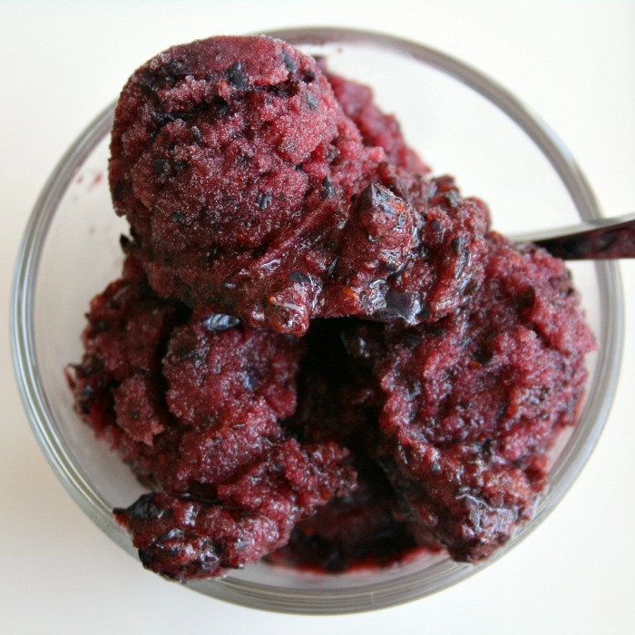 Blueberry Sorbet Recipe Blueberry Sorbet on Shockingly