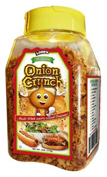 Loeb's Onion Crunch on Shockingly Delicious
