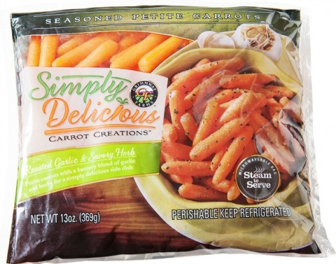 Simply Delicious Carrot Creations Roasted Garlic Savory Herb
