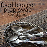 Food Blogger Prop Swap badge