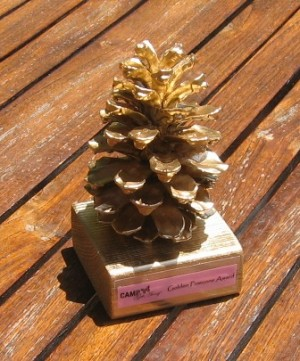 Golden Pine Cone Award