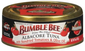 Bumble Bee Prime Fillet Albacore Tuna with Sundried Tomatoes and Olive Oil