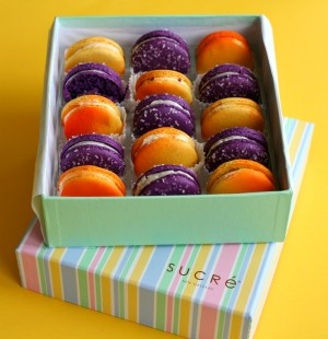 Summer Collection Macarons from Sucre in New Orleans on Shockingly Delicious